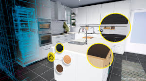 how to design a kitchen with ikea ikea brings kitchen design to reality vrscout