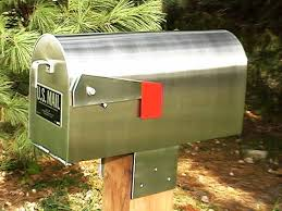 Wall Mount Mailbox With Flag Brass Wall Mount Mailbox U2014 Jen U0026 Joes Design Deluxe Wall Mount