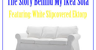 White Ikea Sofa by Different Dog A Simply Beautiful Life The Story Behind My White