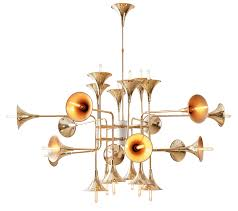Chandelier The Trumpet Chandelier Lm35624pgold