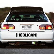 jdm subaru stickers hooligan decal sticker window banner hoonigan ken block racing