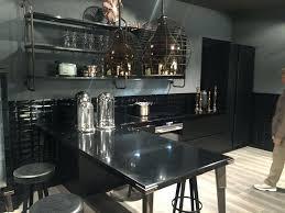 black kitchen island with granite top phoenix modern seating