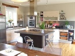 cuisine moderne dans l ancien vos photos de cuisines pauline cuisine melant l ancien et le