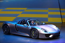 Porsche 918 Blue - build a 1 000 000 porsche 918 spyder in official configurator