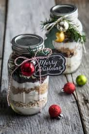 chocolate brownie mix in a jar brownies gift and christmas gifts