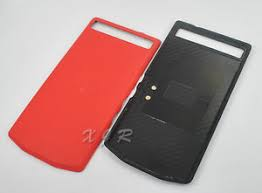 blackberry porsche design p9982 leather battery door back cover for blackberry porsche design
