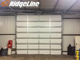 How To Install An Overhead Door Overhead Door Non Insulated Ridgeline Overhead Garage Door