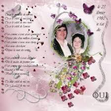 30 ans mariage 30 ans de mariage album de pages de scrap galerie scrapbooking