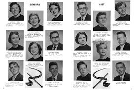 school year books fulton high school year book 1957