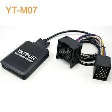 yatour car mp3 usb sd cd changer for ipod aux with optional