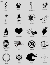 percy jackson drawing of cabin symbols google search percy