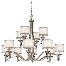 12 Light Chandeliers Kichler 42382miz Nine Light Chandelier Kichler Light