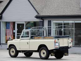 land rover series 3 109 1976 land rover series iii 109 v6 convertible copley motorcars