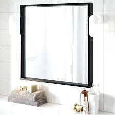 Metal Framed Mirrors Bathroom Metal Framed Mirror Bathroom Mirror Design