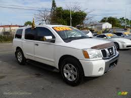 nissan armada 2017 tampa 2004 nissan armada le in blizzard white 746198 jax sports cars