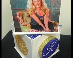 Photo Cubes Centerpieces by Photo Cube Etsy