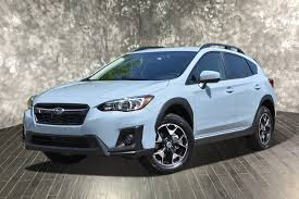 subaru crosstrek 2018 colors pre owned 2018 subaru crosstrek premium sport utility in portage