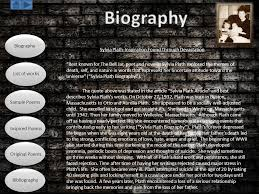 the bell jar themes analysis sylvia plath biography list of works sle poems inspired poems
