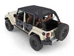 jeep wrangler top smittybilt 94600 black extended mesh top for jeep wrangler