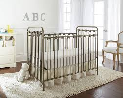 Gray Convertible Cribs by L A Baby Napa Metal 3 In 1 Convertible Crib U0026 Reviews Wayfair