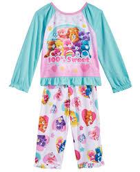 care bears 2 pc 100 sweet pajama set toddler 2t 5t