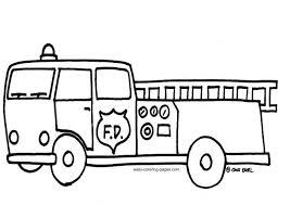 coloring pages fire truck coloring pages fire trucks