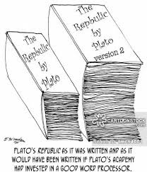 Armchair Philosopher Plato Cartoons And Comics Funny Pictures From Cartoonstock