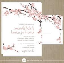 cherry blossom wedding invitations uncategorized cherry blossom wedding invitations cherry blossom