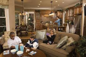 open floor plan kitchen and family room inspirational open kitchen family room floor plans floor plan