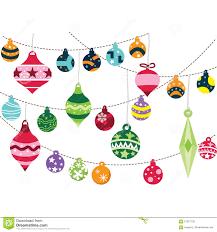 christmas ornaments stock vector image 57027139