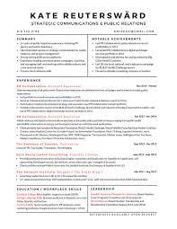 Copywriting Resume Resume U2013 Kate Reuterswärd