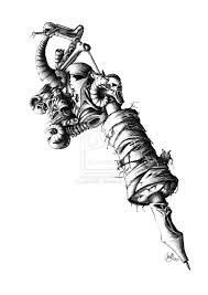 tattoo gun sketch devil tattoo machine by jadroart deviantart com on deviantart