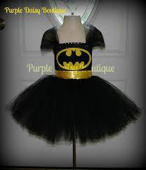 Halloween Costumes Batgirl Batgirl Tutu Dress Halloween Costume Purpledaisyboutique