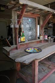 Ideen Aus Holz Fur Den Garten Garten Bar Selber Bauen Freshouse