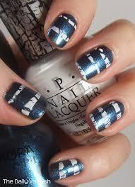 nail art crackle stripes u2013 the daily varnish