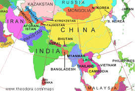 regional map of asia maps of asia flags maps economy geography climate