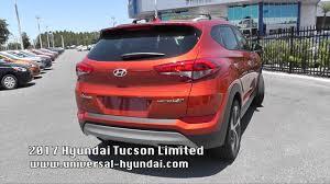 hyundai tucson second 2017 hyundai tucson limited st 386101 30 second walk around