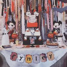 Halloween Scary Party Ideas by Mickey Mouse Halloween Birthday Party Ideas Photo 1 Of 53
