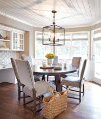 chic chic modern wainscoting panels in dining room contemporary