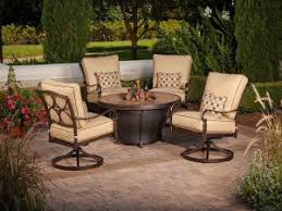 Patio Tables With Fire Pit Patio Furniture Fire Pit Table Set Fire Pit Design Ideas