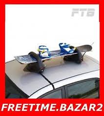 porta sci auto portasci auto porta sci 3 paia porta snowboard con calamita menabo