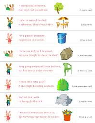 easter scavenger hunt ideas for an easter egg hunt google search easter scavenger