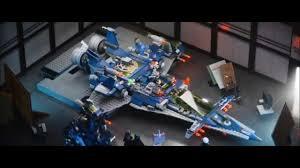 the lego movie benny spaceship scene youtube
