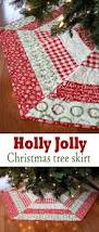 a bright corner holly jolly christmas tree skirt and sale