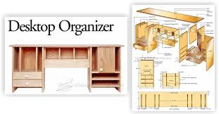 Woodworking Plans Desk Organizer by Desktop Organizer Plans U2022 Woodarchivist