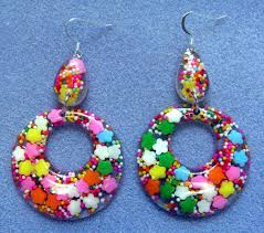 80s earrings 80 s ish big hoop earrings i had so much these flickr