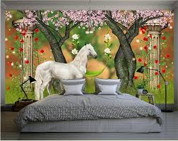 compare prices on horse 3d wall paper online shopping buy low