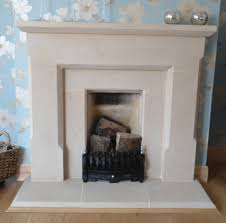 english stone fireplace for gas fires or open fires