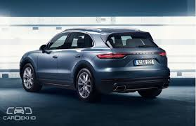 porsche suv in india all porsche cayenne unveiled