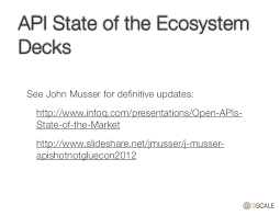 slideshare api progress in the api economy april 2014